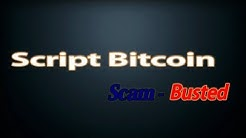 """Scam-Busters """"""""Script Bitcoin Scam Busted"""""""""""