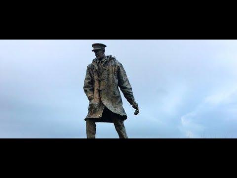 David Stirling Memorial Statue Hill of Row Scotland