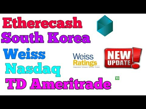 CRYPTO NEWS #042 || ETHERECASH, SOUTH KOREA BITCOIN, NASDAQ EXCHANGE, WEISS RATING .