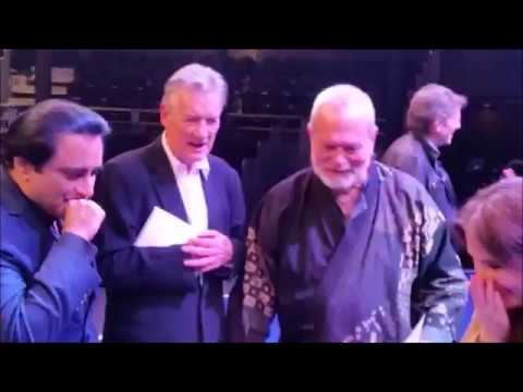 My Monty Python marriage proposal in front of Michael Palin & Terry Gilliam