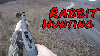 Rabbit Hunting with a Single-Shot Shotgun!