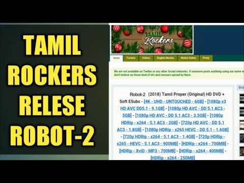 ROBOT -2 RAJINIKANTH FULL HD MOVIE RELESES FOR TAMIL ROCKERS