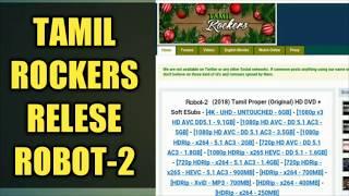 ROBOT -2 RAJINIKANTH FULL HD MOVIE RELESES FOR TAMIL ROCKERS