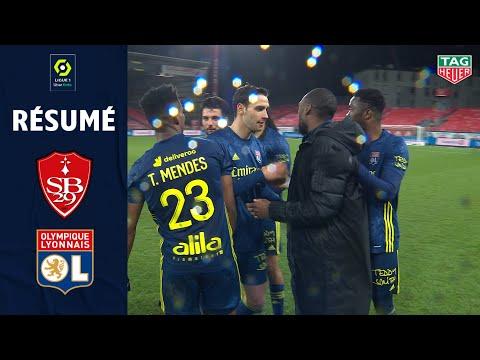 Brest Lyon Goals And Highlights