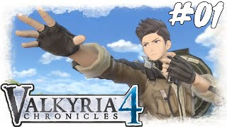 Lets Play Valkyria Chronicles 4 #01 / Prolog: Operation Nordkreuz/ Gameplay (PS4 / German / Deutsch)