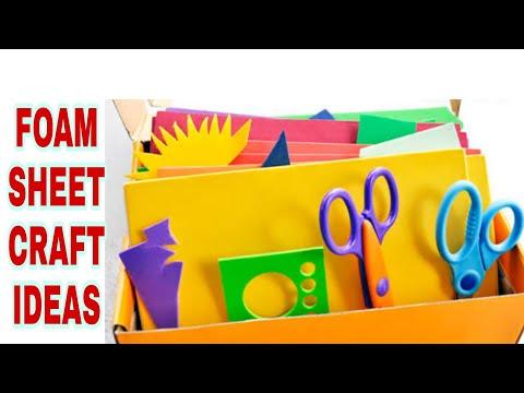 Diy Foam Sheet Craft Diy Art And Crafts Foam Sheet Craft Ideas