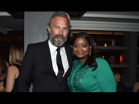 "Kevin Costner, Octavia Spencer Talk ""Hidden Figures"""