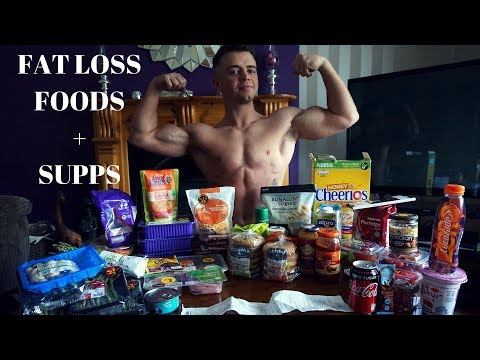 Groceries for Fat  Loss  Foods +  Supplements
