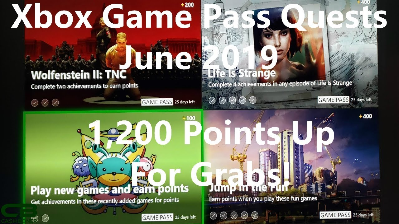 Xbox Game Pass Quests For June 2019 1 200 Microsoft