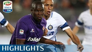 Fiorentina - Inter 5-4 - Highlights - Giornata 33 - Serie A TIM 2016/17