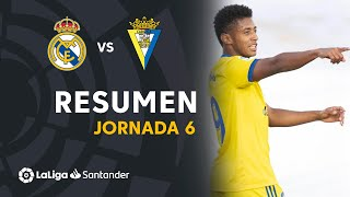 Resumen de Real Madrid vs Cádiz CF (0-1)