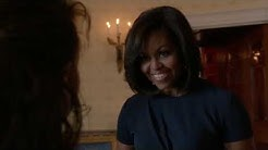 "Michelle Obama on NCIS ""Homefront"" 13x22"