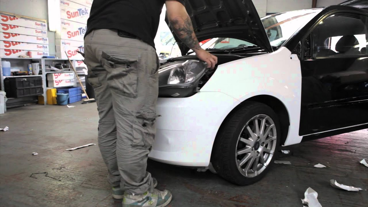 Full Mk6 Zetec S Fiesta Vehicle Wrap By Autowrap Northants
