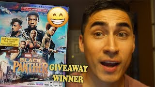 Black Panther Blu Ray GiveAway (Winner Announced) | Buying my first Blu Ray | Channel Update