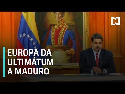 Venezuela recibe ultimátum de Europa - Las Noticias