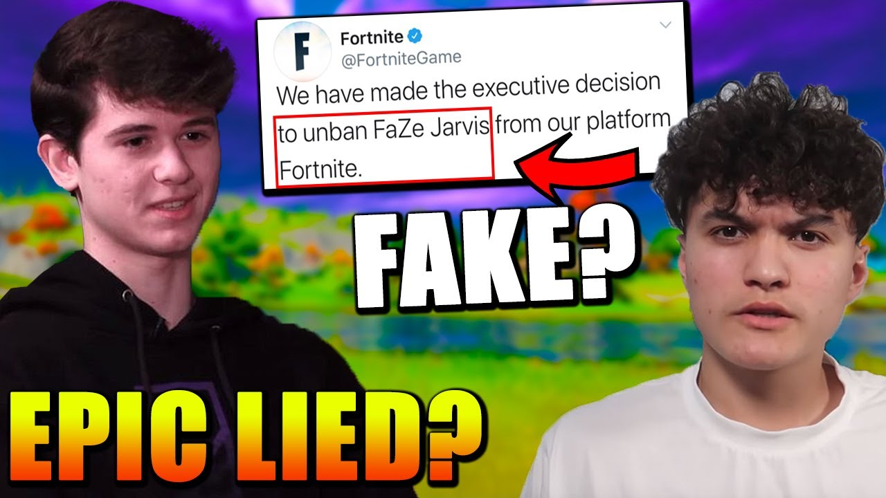 "FaZe Jarvis UNBANNED..? FAKE! Bugha Responds to Epic ""WARNING""! Vbucks are now CHEAPER!"