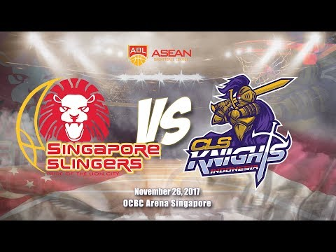 Singapore Slingers VS CLS Knights Indonesia | ABL 2017 - 2018
