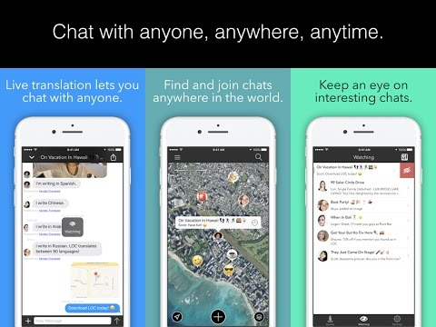 LOC - Location-based Chat (v2.7)