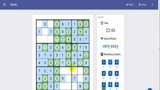 sudoku online game for  smartphone