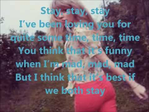 Taylor Swift - Stay, Stay, Stay LYRICS
