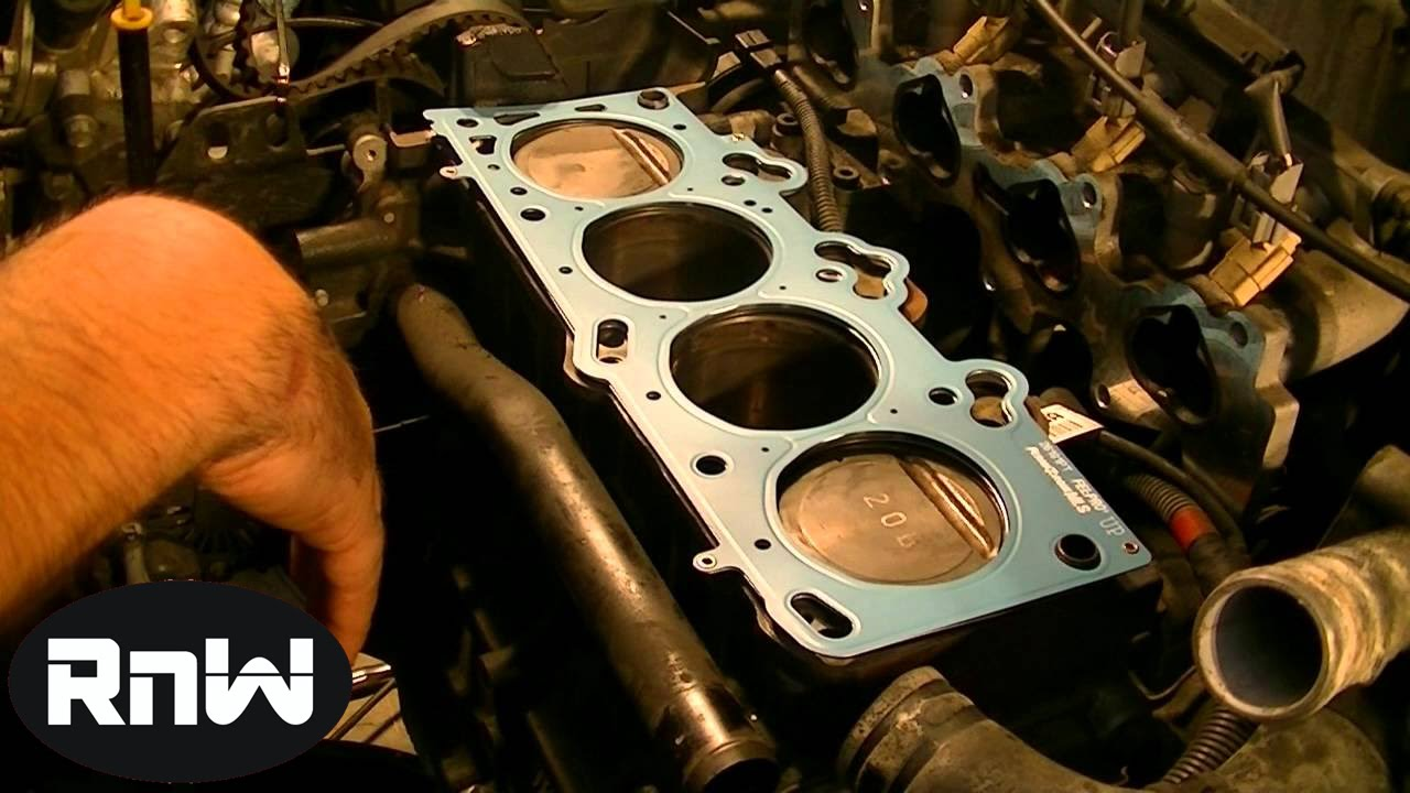 how to replace a head gasket part 6 youtube rh youtube com