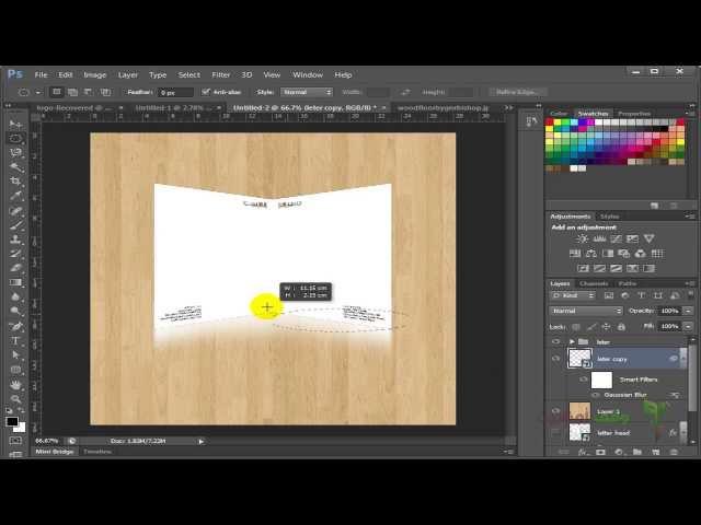 Adobe Photoshop cs6-  80- تصميم بوستر للعرض علي العميل