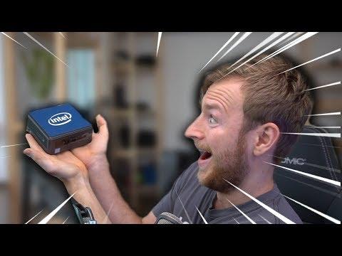 Смотреть Klein, aber kräftig! | INTEL NUC Mini PC Review онлайн