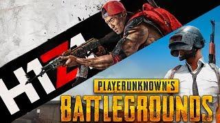 СРАВНЕНИЕ ИГРА PUBG и H1Z1 . Какая лучшая игра Battle Royale ?