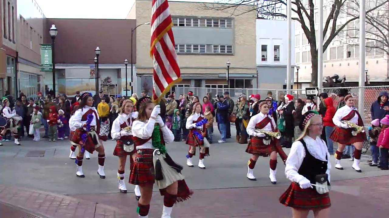 2010 Downtown Springfield Christmas Parade Missouri Central High ...