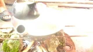 The Making of Amik (Kalagan(Kaagan) Moro Muslim Native Delicacies)
