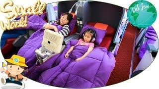 เด็กจิ๋วเที่ยว Ocean Park ตอน1 เดินทาง Hong Kong Airline Business Class [N