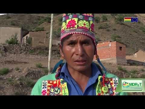 Se implementa sistema de riego por aspersión en Chayanta, Potosí