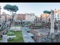 Torre Argentina (Roman Cat Sanctuary) in Rome, Italy
