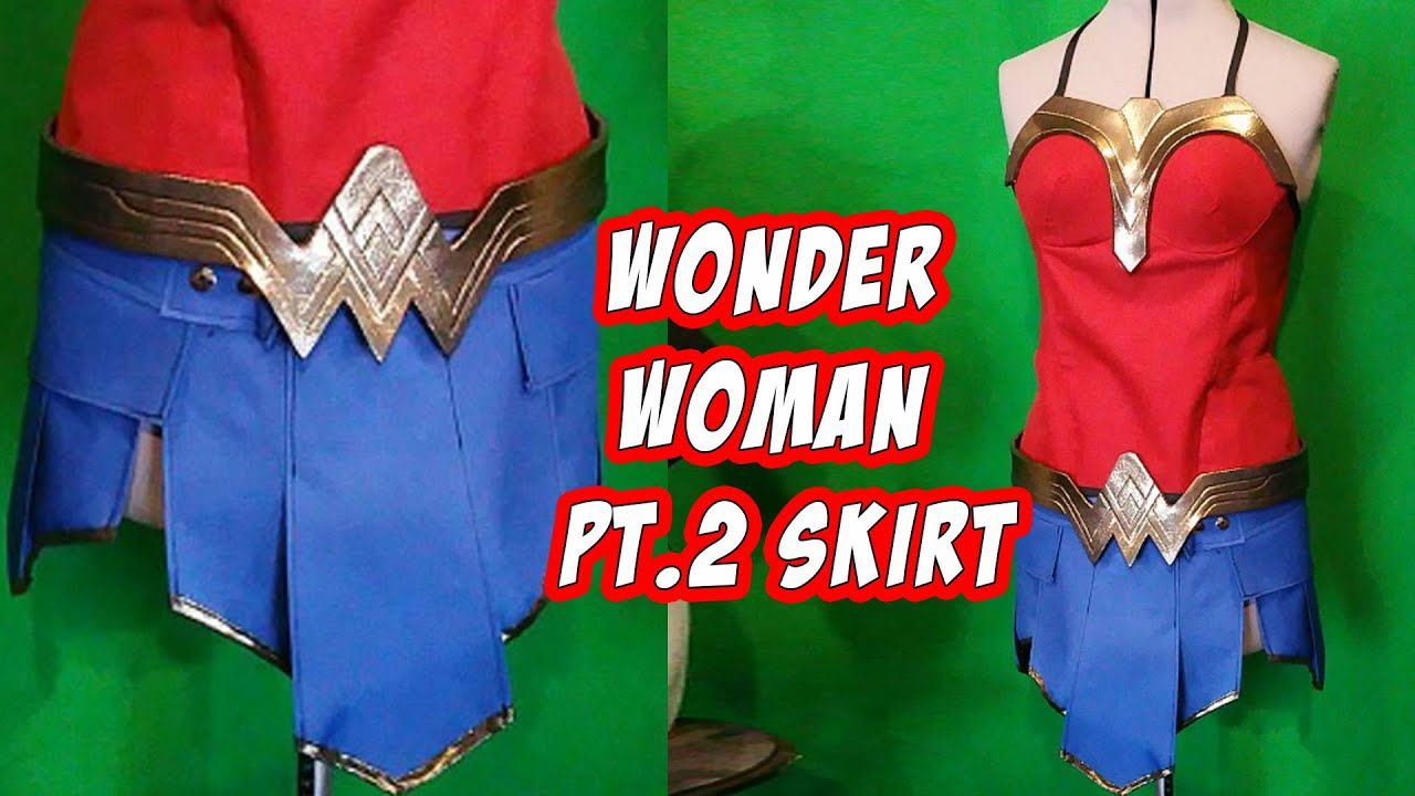 How to wonder woman cosplay costume skirt part 2 youtube how to wonder woman cosplay costume skirt part 2 solutioingenieria Choice Image
