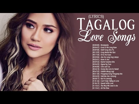 Popular Tagalog Love Songs 80's 90's With Lyrics Collection ❤ Pamapatulog Opm Tagalog Love Songs