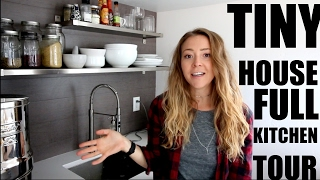 Tiny House Full Kitchen Tour / 42 Square Feet!