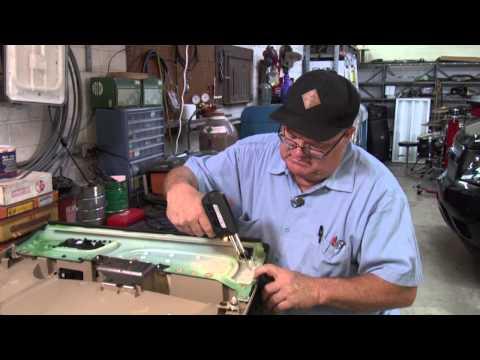 Automotive door panel repair