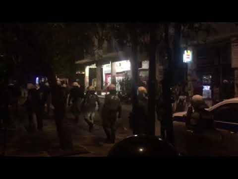 Προσαγωγές στη Σπύρου Τρικούπη από την αστυνομία (2)