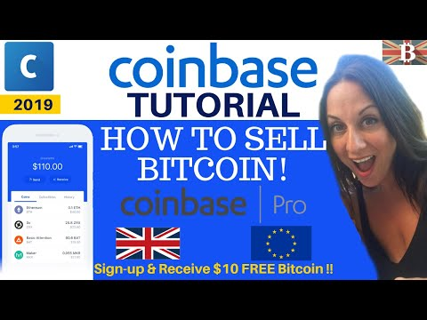 Coinbase Tutorial 2019: How To Sell Bitcoin & Reduce Fees With Coinbase Pro