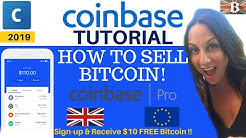 How to Sell Bitcoin with Coinbase & Coinbase Pro Exchange (2020)
