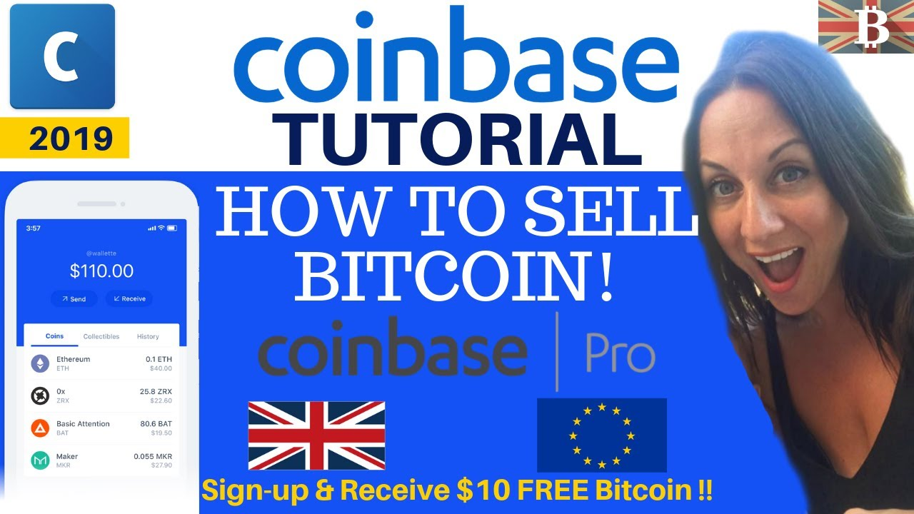 selling bitcoin on coinbase uk