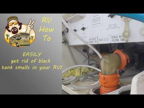 RV How To - 3 Easy Steps for Maintaining your RV's holding tanks. The Bio-Geo Method...