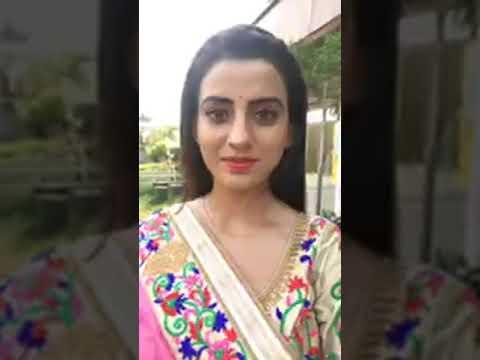 Pawan singh and Akshara singh live on Facebook   on location