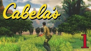 Cabela's African Adventures - Let's Play Walkthrough Gameplay - Part 1 - Buffalo