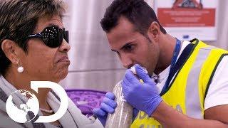 Policía detecta drogas en maleta de anciana | Control de fronteras: España | Discovery Latinoamérica