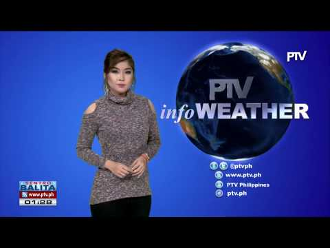 PTV INFO WEATHER: #UrdujaPH, kasalukuyang nasa karagatang malapit sa Silangan ng Eastern Samar