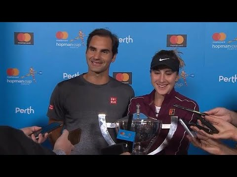 Team Switzerland press conference (Final) | Mastercard Hopman Cup 2019