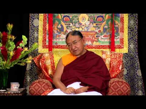 "Sakya Trizin ""How to Face Difficult Circumstances"""