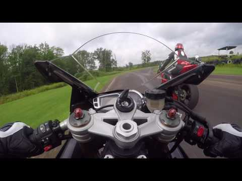 ZX-10R Motorcycle Crash Nelson Ledges 7/23/17