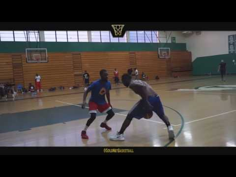 Paul Davis ABL Tryout/Showcase Highlights - Africa Basketball League